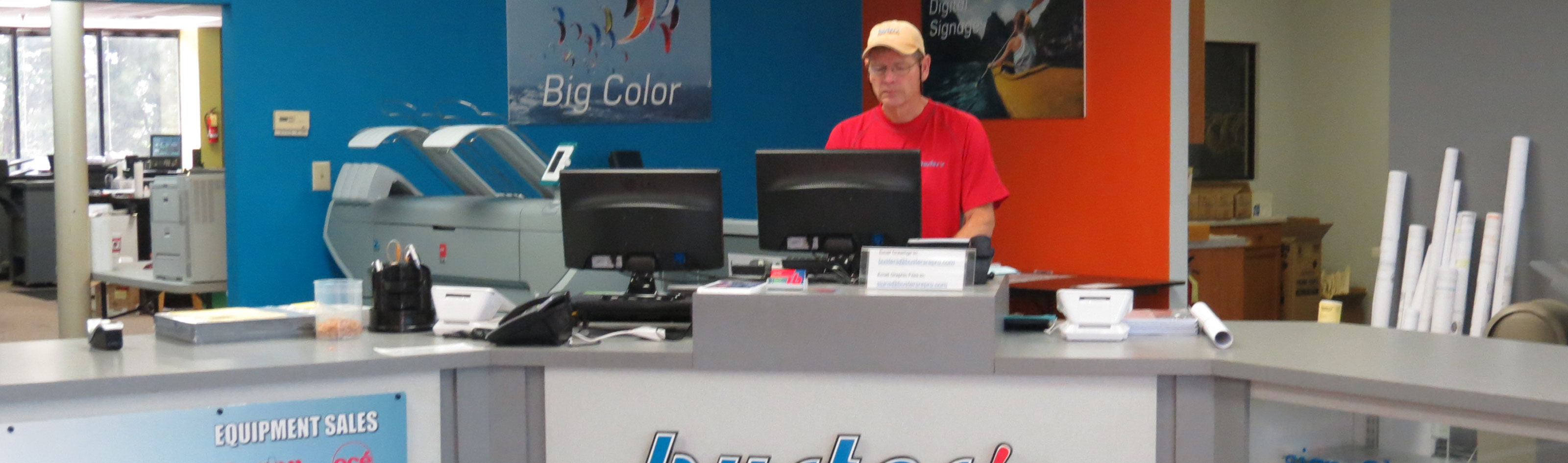 Busters reprographics printing graphics blueprints signs click to email malvernweather Image collections